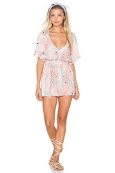 Rachel Pally Crepe Renay Playsuit Pink