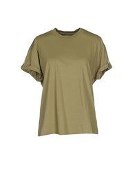 Sandrine Rose T Shirts Military Green