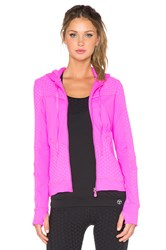 Trina Turk Bermuda Hooded Jacket Pink
