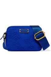 Marc By Marc Jacobs Embossed Neoprene Shoulder Bag Royal Blue