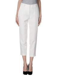 Reversible Trousers Casual Trousers Women White