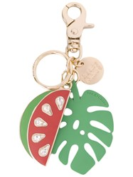 See By Chloe Watermelon Keychain Women Enamel One Size Green