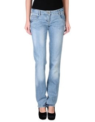 Patrizia Pepe Denim Pants Blue
