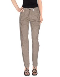 High Denim Denim Trousers Women Khaki