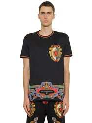 Dolce And Gabbana Printed Cotton Jersey T Shirt Array 0X5758dc8