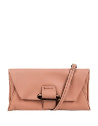 Kooba Ruby Leather Convertible Wallet Coral