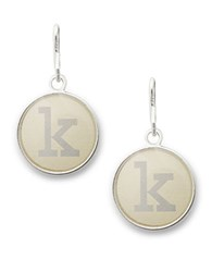 Alex And Ani Initial K Necklace Charm Silver