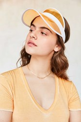 Urban Outfitters Crystal Visor Yellow