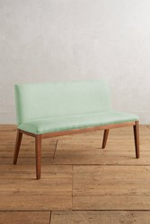 Anthropologie Linen Emrys Bench Mint