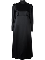 Simone Rocha High Neck Dress Black