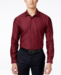 Inc International Concepts Blake Long Sleeve Non Iron Shirt Only At Macy's Red