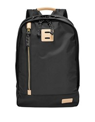 Fossil Sportsman Textured Backpack Black