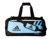 Adidas Team Issue Medium Duffel Collegiate Light Blue Duffel Bags