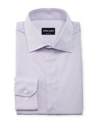 Giorgio Armani Tonal Micro Stripe Long Sleeve Dress Shirt Assorted