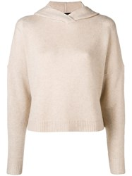 Theory Hoodie Nude And Neutrals