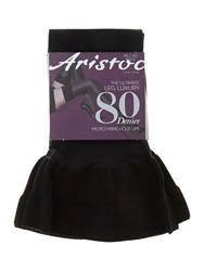 Aristoc 80 Den Opaque Hold Ups Black