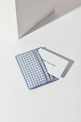 Urban Outfitters Gingham Cardholder Lavender
