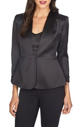 Women's 1.State Satin Stretch Peplum Blazer