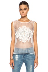 Sass And Bide The Formal Simplicity Poly Shirt In White