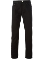 Paul Smith Ps By Straight Leg Jeans Black