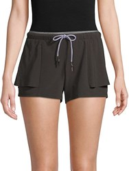 Mpg Bray Drawstring Shorts Black