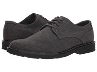 Dockers Parkway 360 Plain Toe Oxford Dark Grey 360 Stretch Felt Shoes Black
