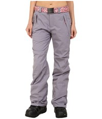 O'neill Star Pants Silver Melee Women's Casual Pants Gray