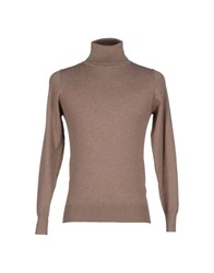 Hamaki Ho Knitwear Turtlenecks Men Brown
