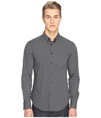 Naked And Famous Regular Shirt Geometric Print