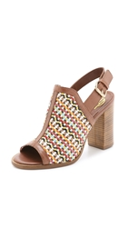 House Of Harlow Teagan Slingback Sandals Cuoio Multi