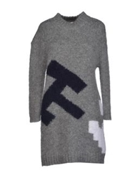 Boy By Band Of Outsiders Short Dresses Grey
