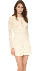 Free People Teen Witch Dress Shearling