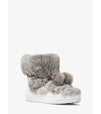 Nala Fur And Calf Hair High Top Sneaker