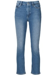Mih Jeans 'Niki' Cropped Blue
