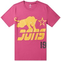Converse X Just Don Graphic Tee Pink