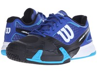 Wilson Rush Pro 2.0 Scuba Blue Black Men's Tennis Shoes