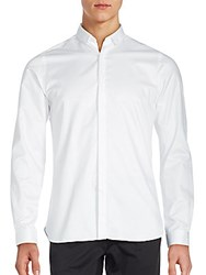 The Kooples Long Sleeve Solid Shirt White