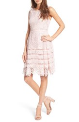 Cupcakes And Cashmere Women's Cucpakes Summers Sheath Dress Soft Pink