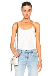 Atm Anthony Thomas Melillo Silk Cami Top In White