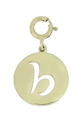 Bony Levy 'S 14K Gold Initial Charm Nordstrom Exclusive Yellow Gold