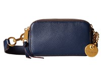 Marc Jacobs Recruit Camera Bag Navy Blue Handbags