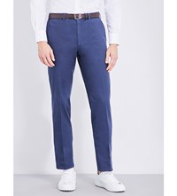 Brioni Megeve Regular Fit Straight Jeans Perwinkle Lead