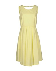 Tela Dresses Knee Length Dresses Women Yellow