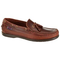 Sebago Ketch Leather Boat Shoes Brown