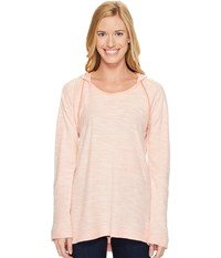 Columbia Coastal Escape Hoodie Lychee Heather Women's Sweatshirt Pink