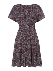Therapy Maisie Floral Tea Dress Black Multi