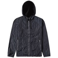 Dries Van Noten Valsh Hooded Jacket Blue