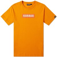 Napapijri Sox Box Logo Tee Orange