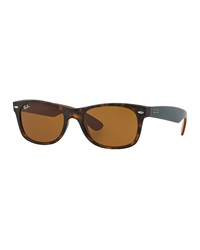 New Wayfarer Sunglasses Matte Havana Ray Ban
