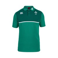 Canterbury Of New Zealand Ireland Cotton Training Polo Green